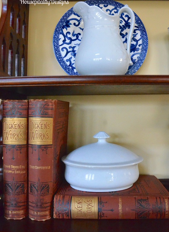 Antique Charles Dickens Books - Housepitality Designs