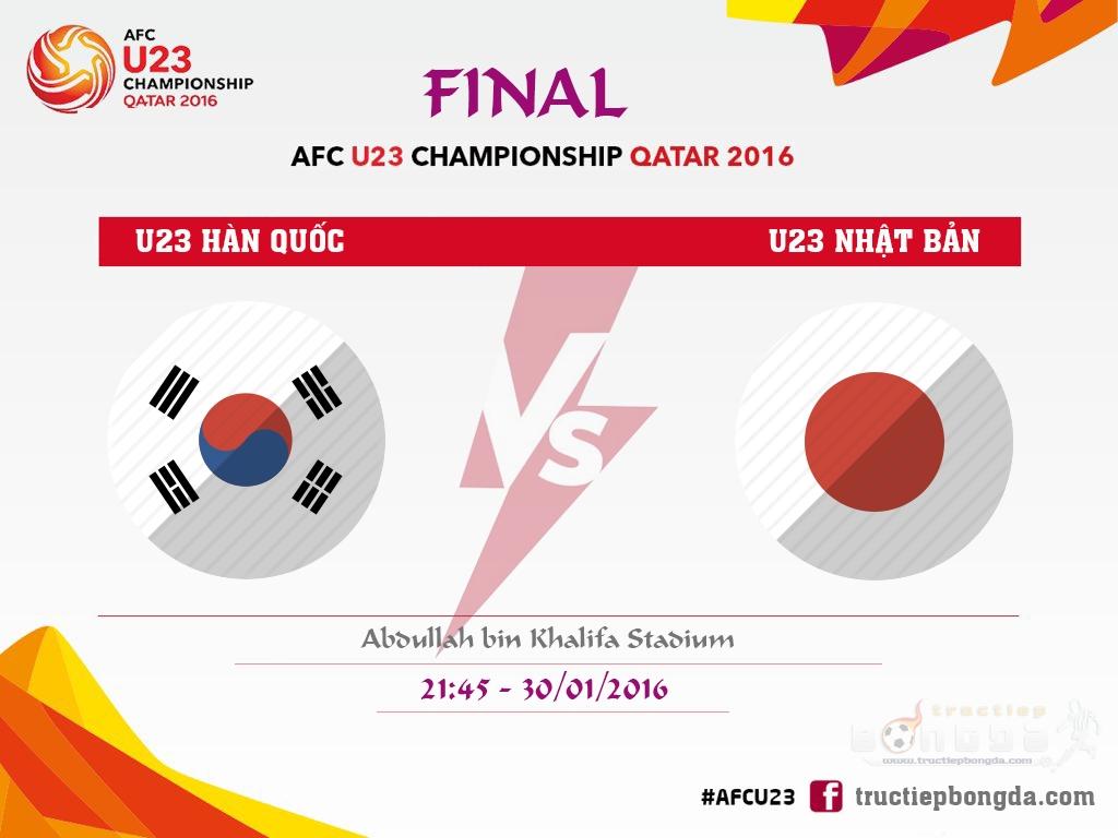 U23 Hàn Quốc vs U23 Nhật Bản