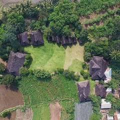 Kampung Budaya Sindang Barang Bogor from above...