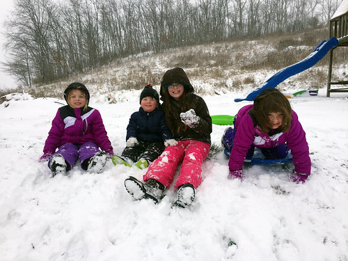 First Snow Day of the Year