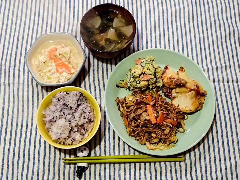 2016年1月19日の晩ご飯