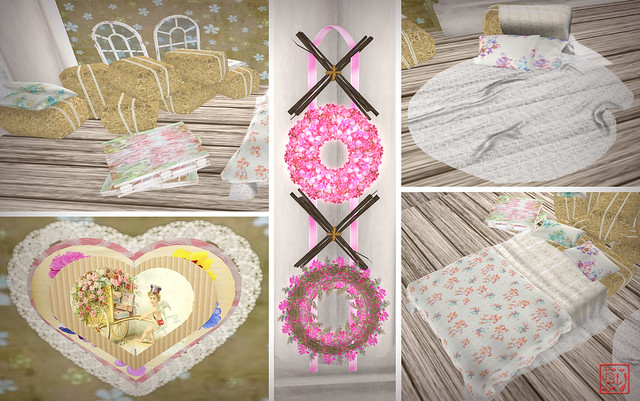 Shabby Tabby - The Challenge, Vintage Valentine, Crazy Valentine Hunt Preview