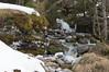 Petit ruisseau dans La Clusaz, France