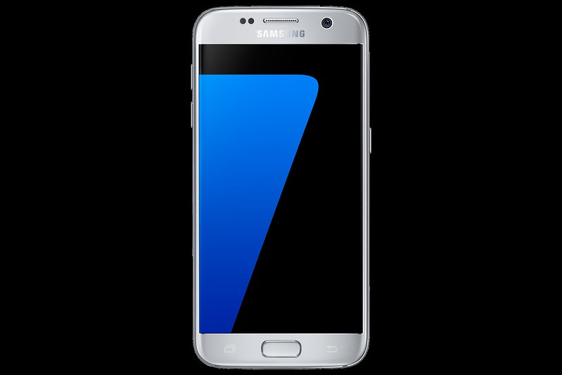 Samsung Galaxy S7 - Silver Titanium - Front