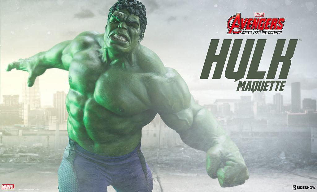 Sideshow Collectibles【浩克】復仇者聯盟2:奧創紀元 Hulk 1/4 比例 全身雕像