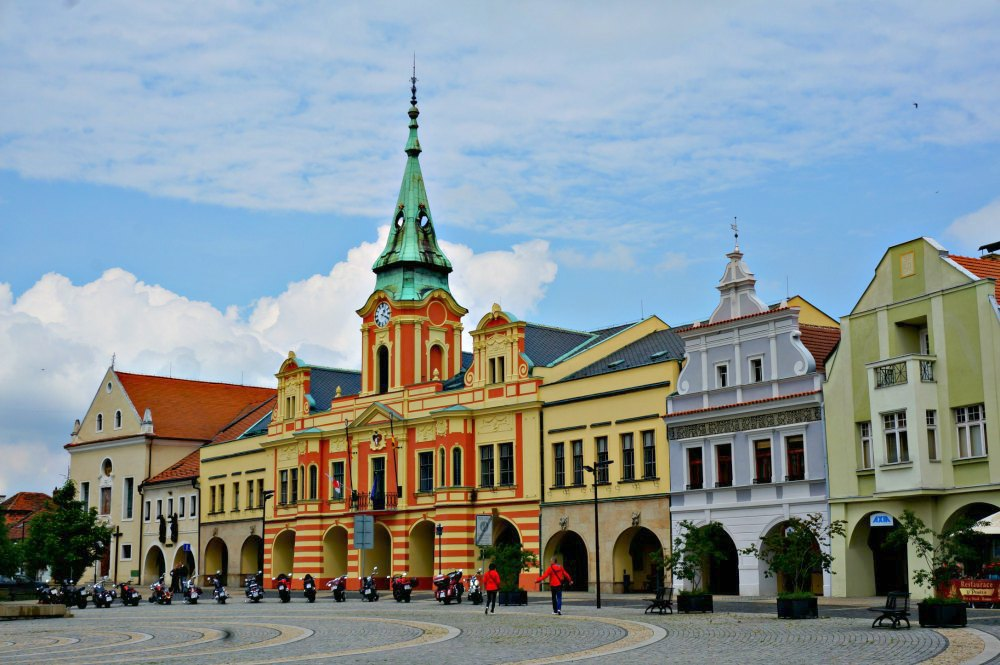 Melnik town Square