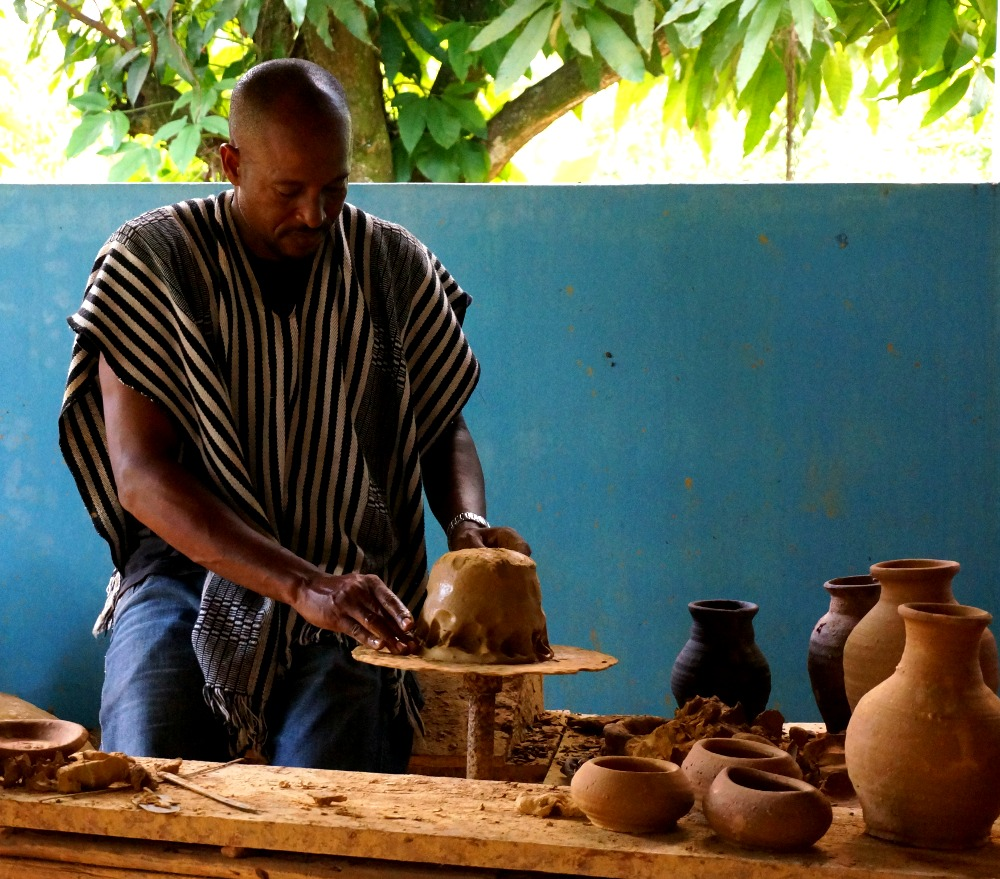 Pottery Demonstration