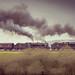 Steam Train heading towards Blea Moor