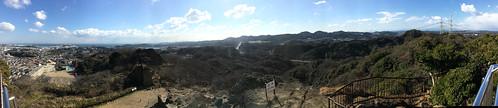 鷹取山展望台からの眺望