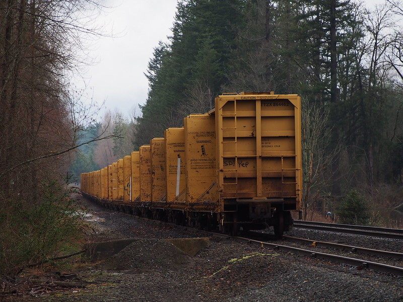 BNSF Mainline Car Storage