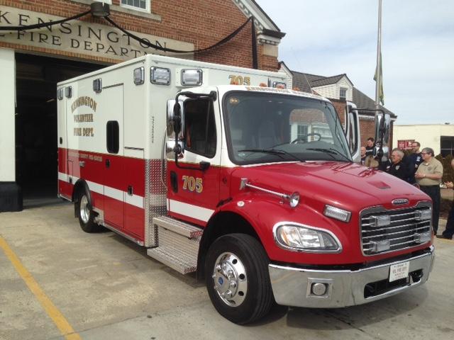 New KVFD Ambulance