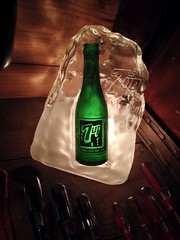 Vintage 7up Advertising Display Light