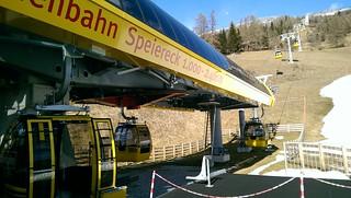 Sonnenbahn Speiereck | St.Michel völgyállomás