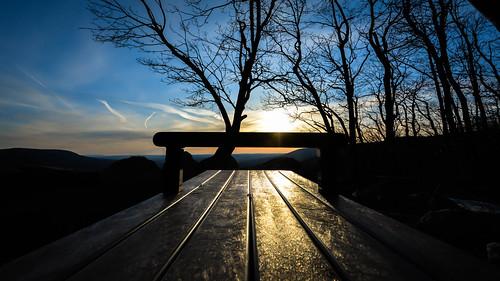 morning blue sunrise landscape pennsylvania bluehour nikon1024