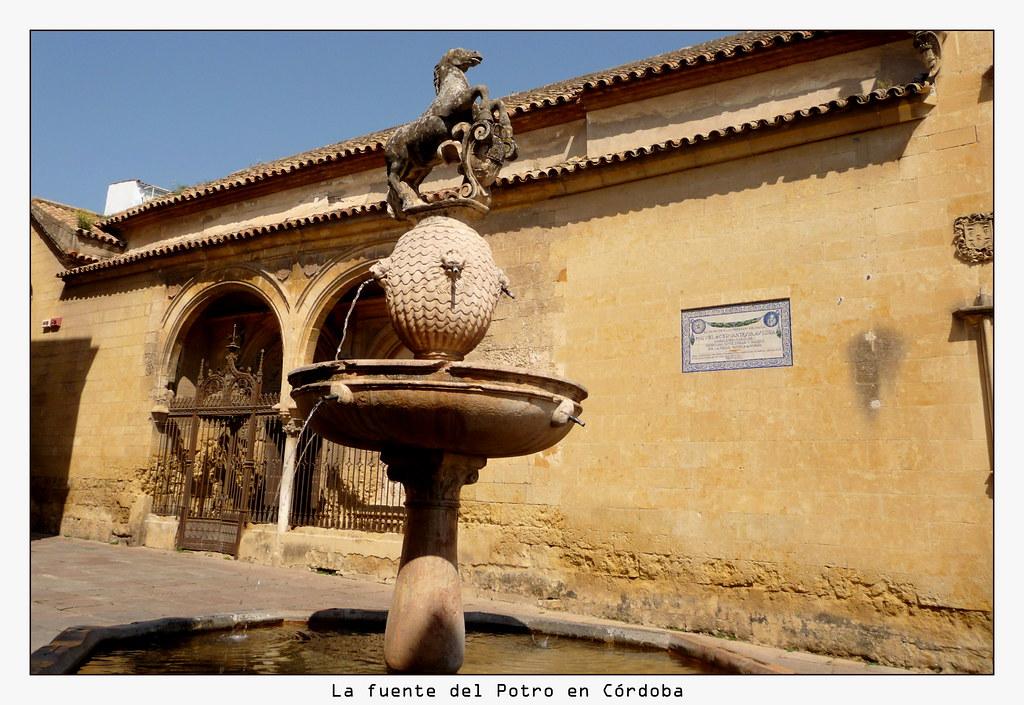 La fuente del Potro en Córdoba