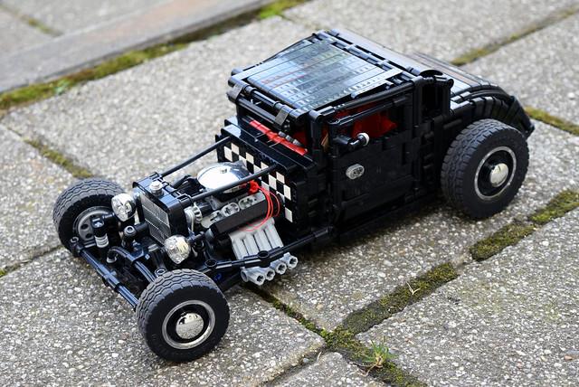 Hot rod - Black coupe