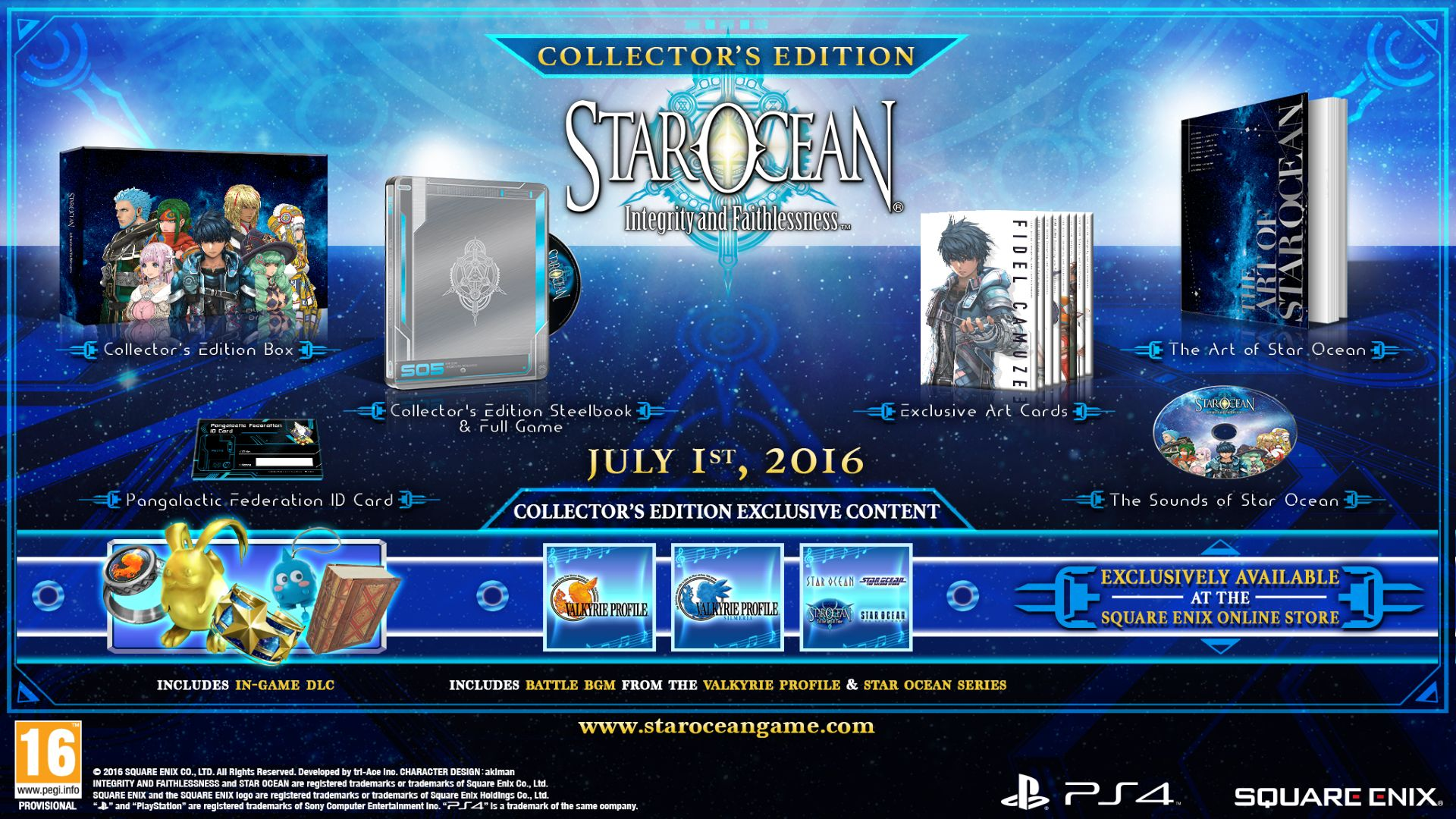 Star Ocean Integrity and Faithlessness CE