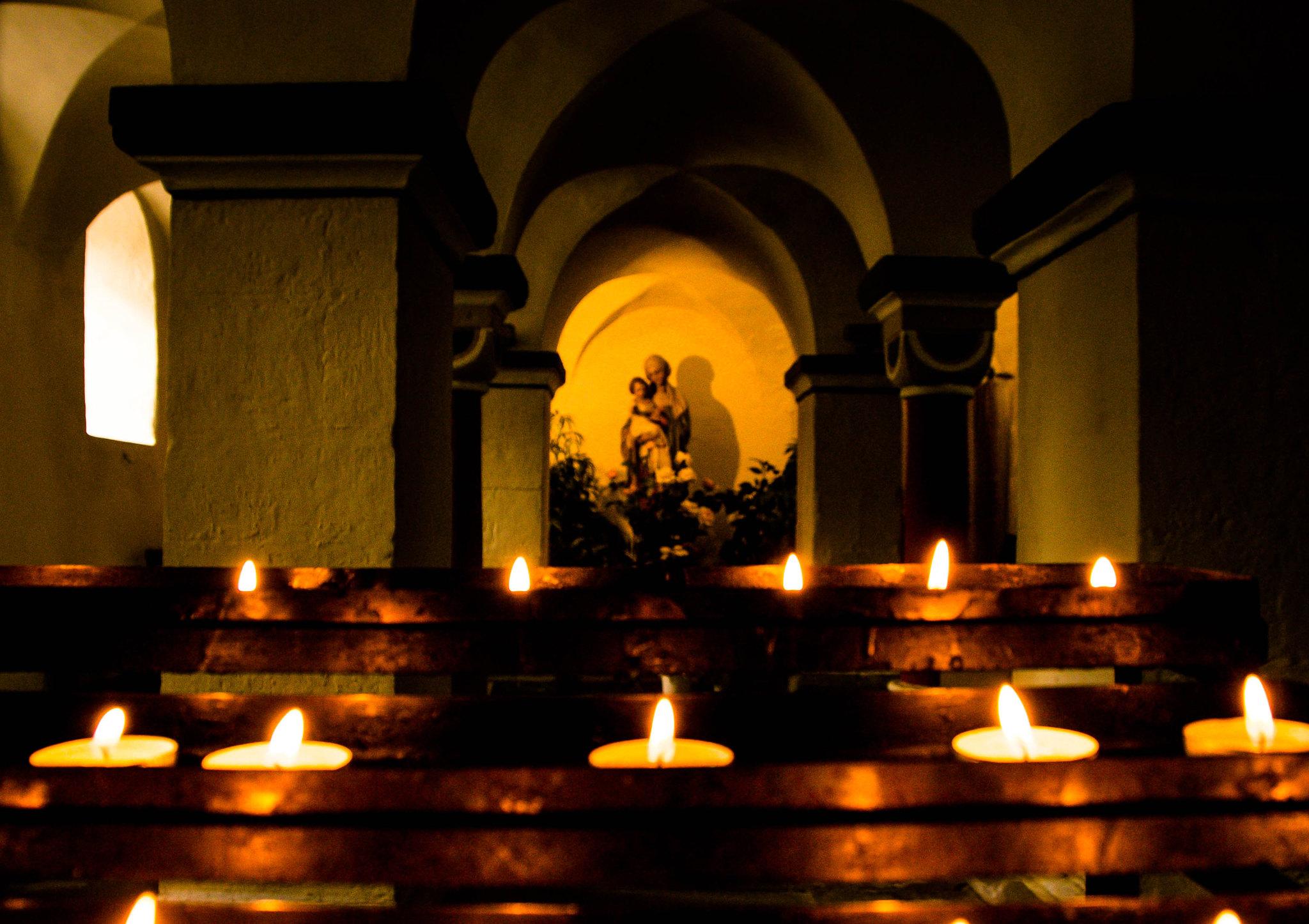 Kerzen für Maria