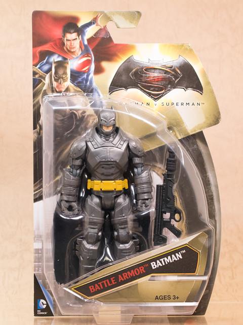 レビュー マテル 6インチアクションフィギュア 「バトルアーマーバットマン」  (バットマン vs スーパーマン ジャスティスの誕生)