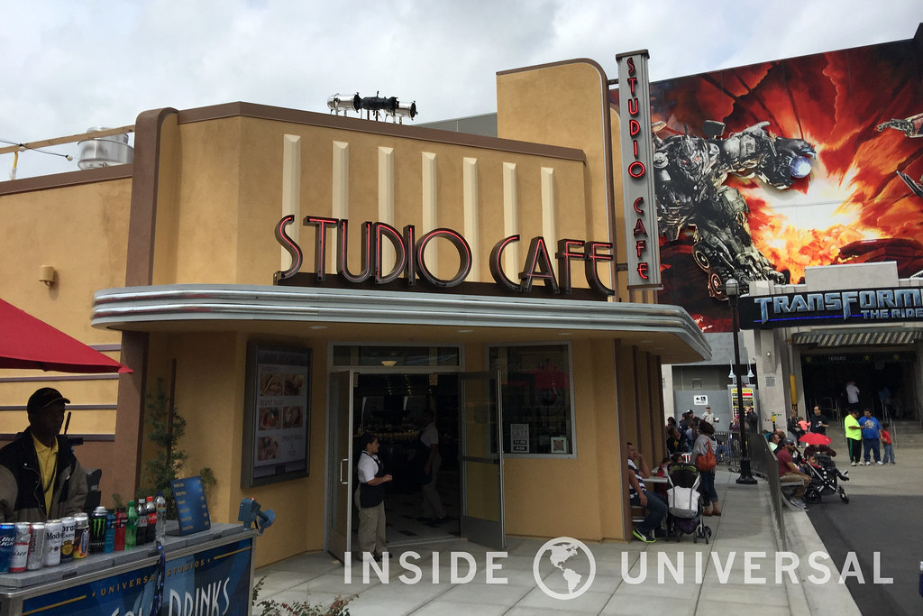 Studio Cafe is now open, replacing the NBCUniversal Experience