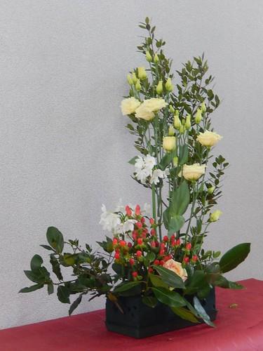 Le bouquet en creux