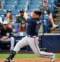 Nick Swisher at the plate