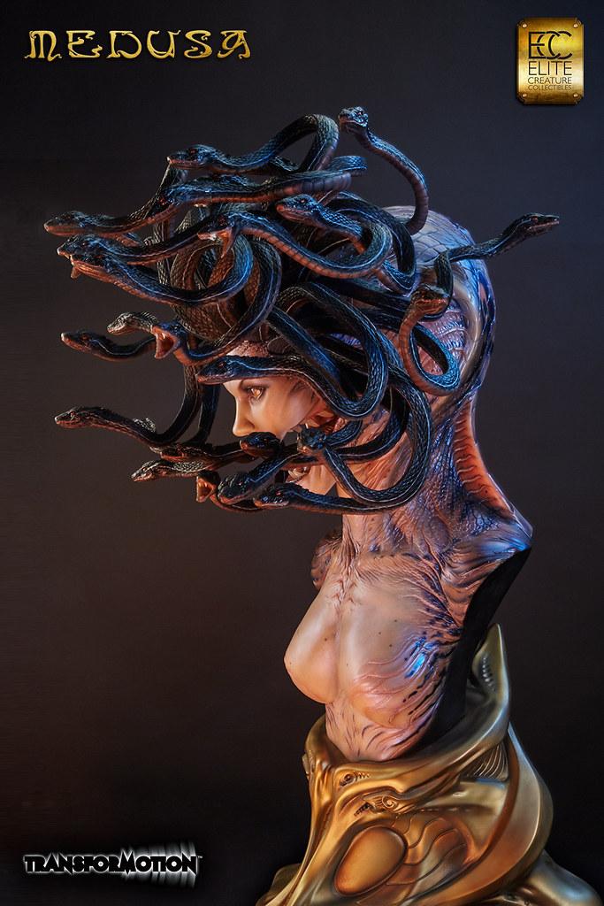 Elite Creature Collectibles – 蛇髮魔女梅杜莎Medusa 1:1 胸像