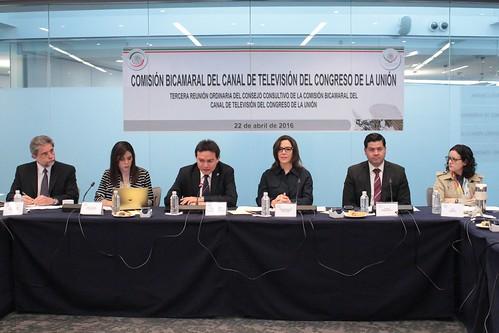 Comisión Bicamaral del Canal del Congreso - 3ª Reunión del Consejo Consultivo