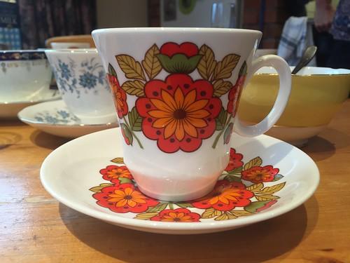 Retro teacup