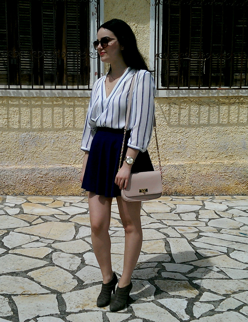 striped outfit