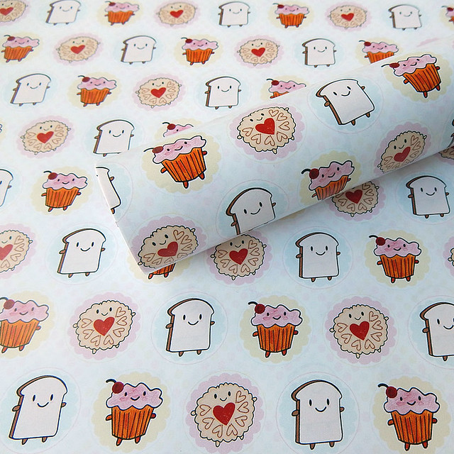 Afternoon Tea Wrapping Paper