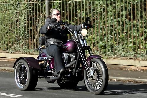 Harley-Davidson Trike.... Photoshopped