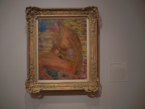 Pierre Bonnard, Legion of Honor, SF - Somber Nude (Dina Vierny) _ 1867