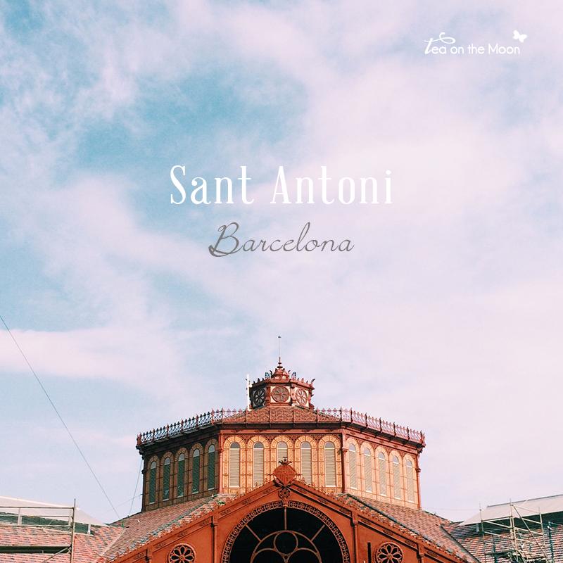 Barcelona barrio Sant Antoni - mercado