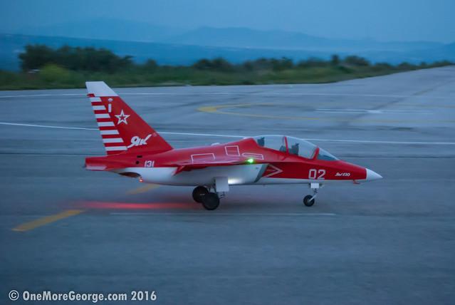 Dounis Airfield I 02.04.2016 I RC Yak-130 (1/4) twin-turbine jet