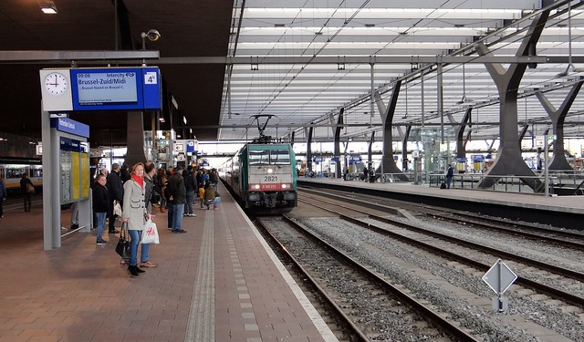 Rotterdam Centraal Station Benelux IC Brussel 2821