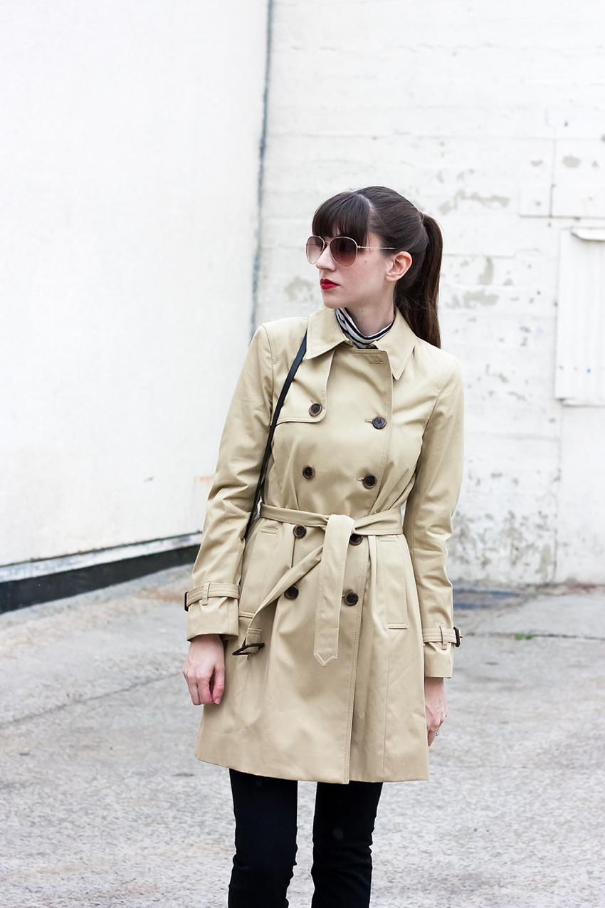 Tan Spring Coat