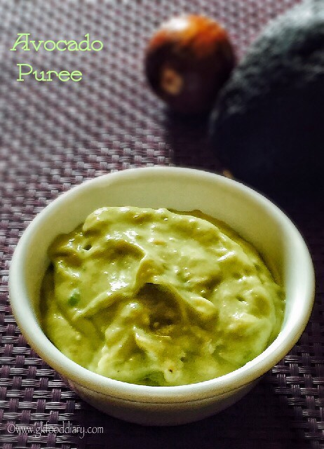 Avocado Puree Recipe for Babies3