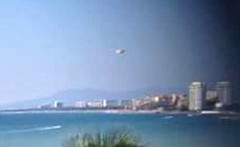 UFO Over Beach Of Puerto Vallarta, Mexico Reported This Week, UFO Sighting News.