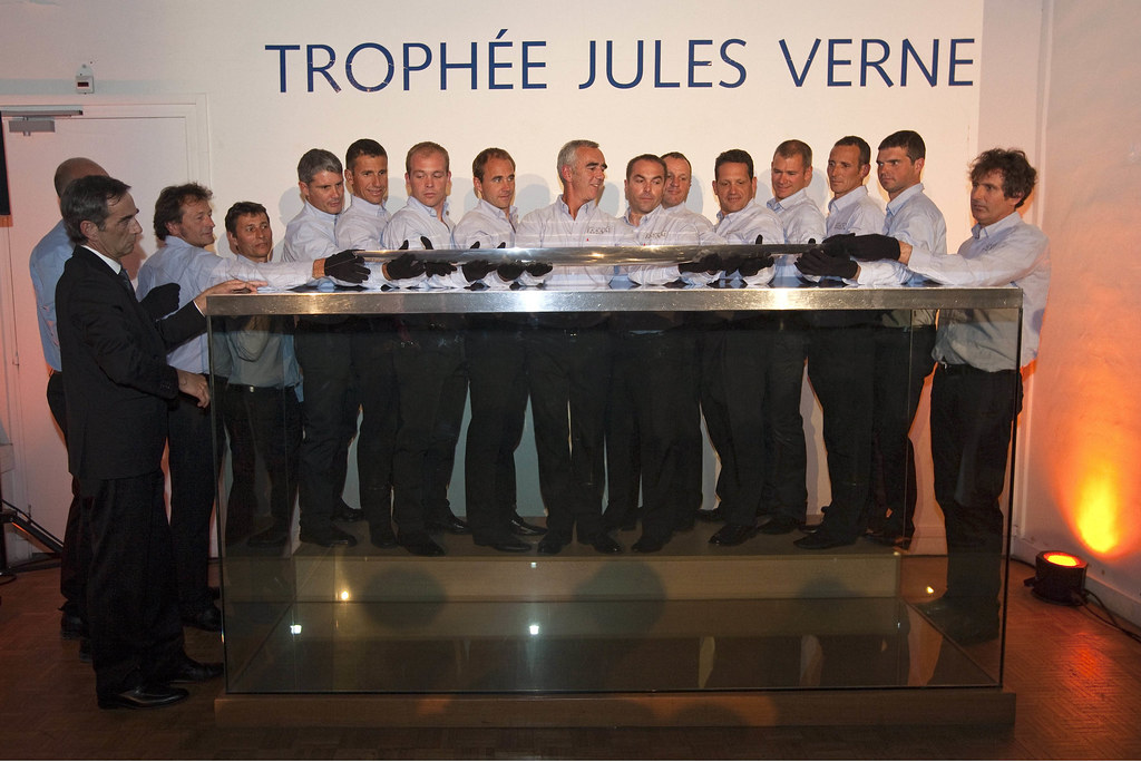 Remise du Trophee Jules Verne  ©B.STICHELBAUT-BPCE