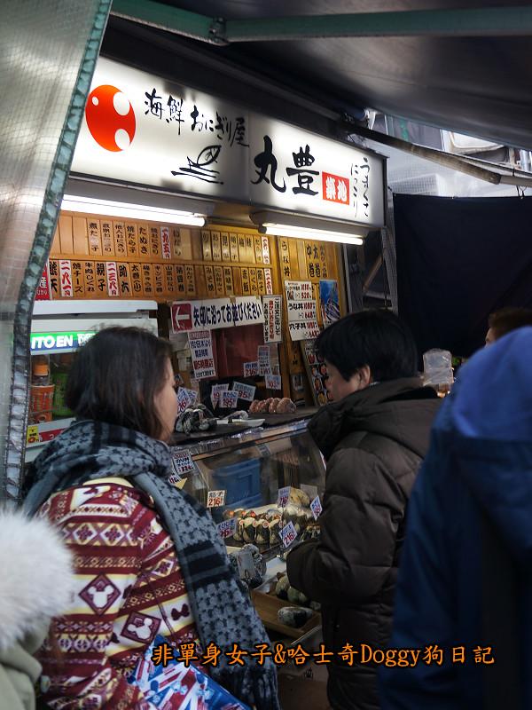 日本築地市場海膽蓋飯09