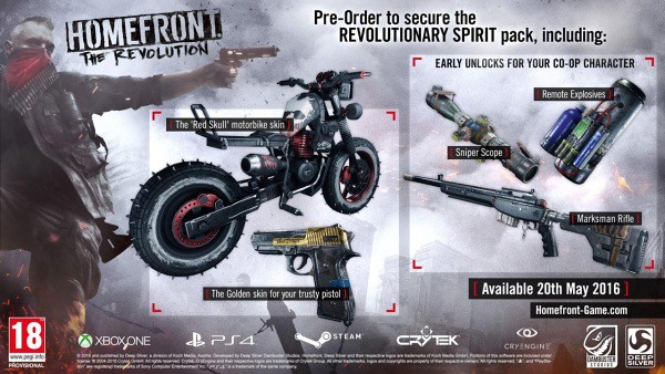Homefront - Revolutionary Spirit Pack