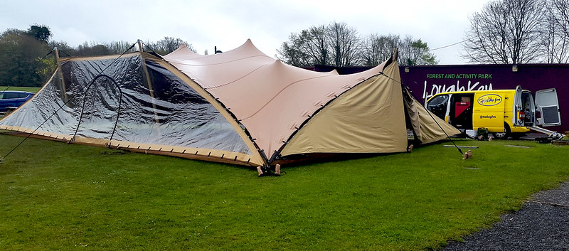 Bedouin Marquee for Anton Savage