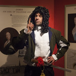 Macastory leading a time-hopping tour of Callendar House | © Robin Mair