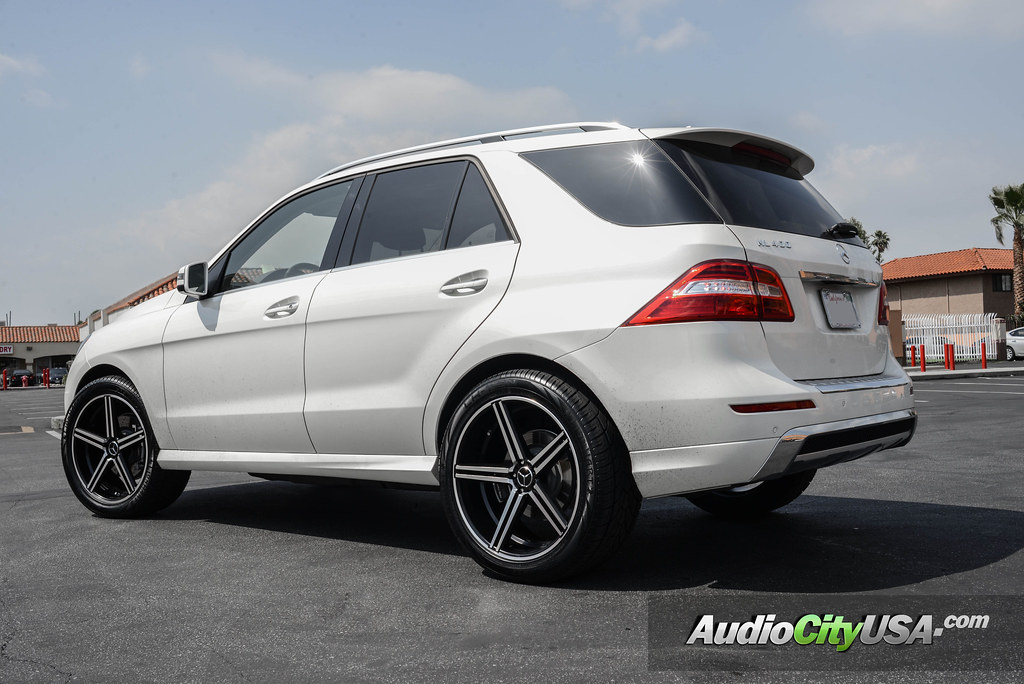2015 mercedes benz ml 400 22 gianelle wheels lucca for Mercedes benz ml 2015