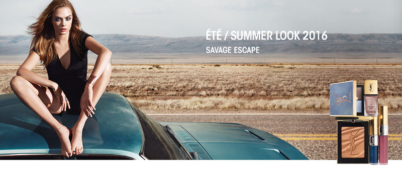 YSL Savage Escape Makeup Collection Summer 2016