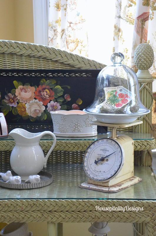 Sunroom potting bench - Housepitality Designs