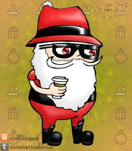 Santa Claus es Hipster
