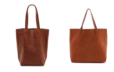 Shopbop Borwn Leather Totes