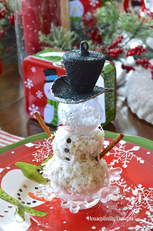 No Bake Snowman Cookies - Housepitality Designs